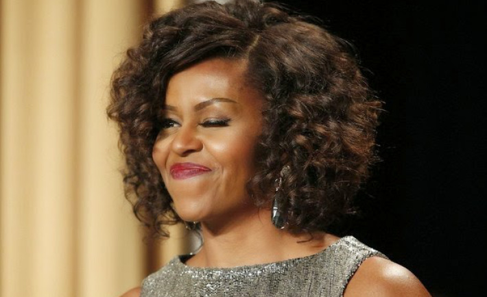 Awesome Check Out Michelle Obama39S New Hair Do Photos Short Hairstyles Gunalazisus