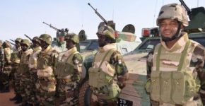 Niger Republic soldiers