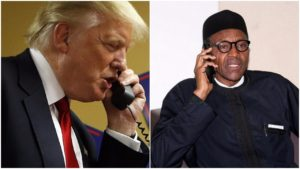 What President Trump's call with President Muhammadu Buhari was about